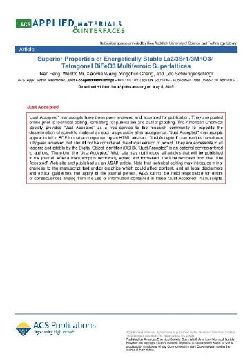 Superior Properties of Energetically Stable La2/3Sr1/3MnO3