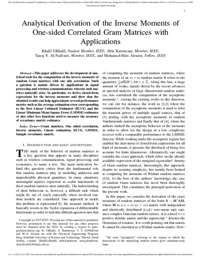 matrices and applications