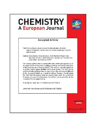 Post-synthesis amine borane functionalization of metal